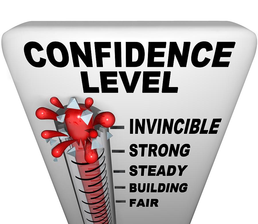 niveau de confiance en soi