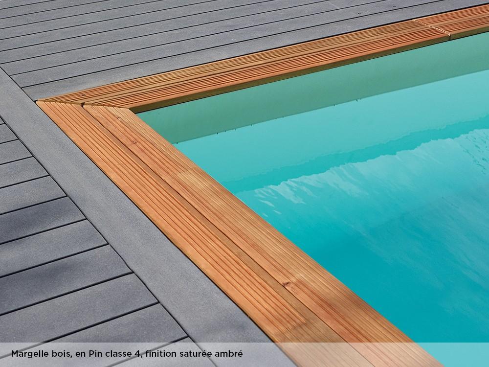 piscine bois rectangulaire maeva 500