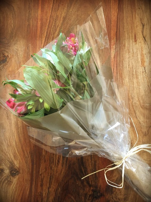 Beautiful Alstroemeria Bouquet By Home Bargains Flowers