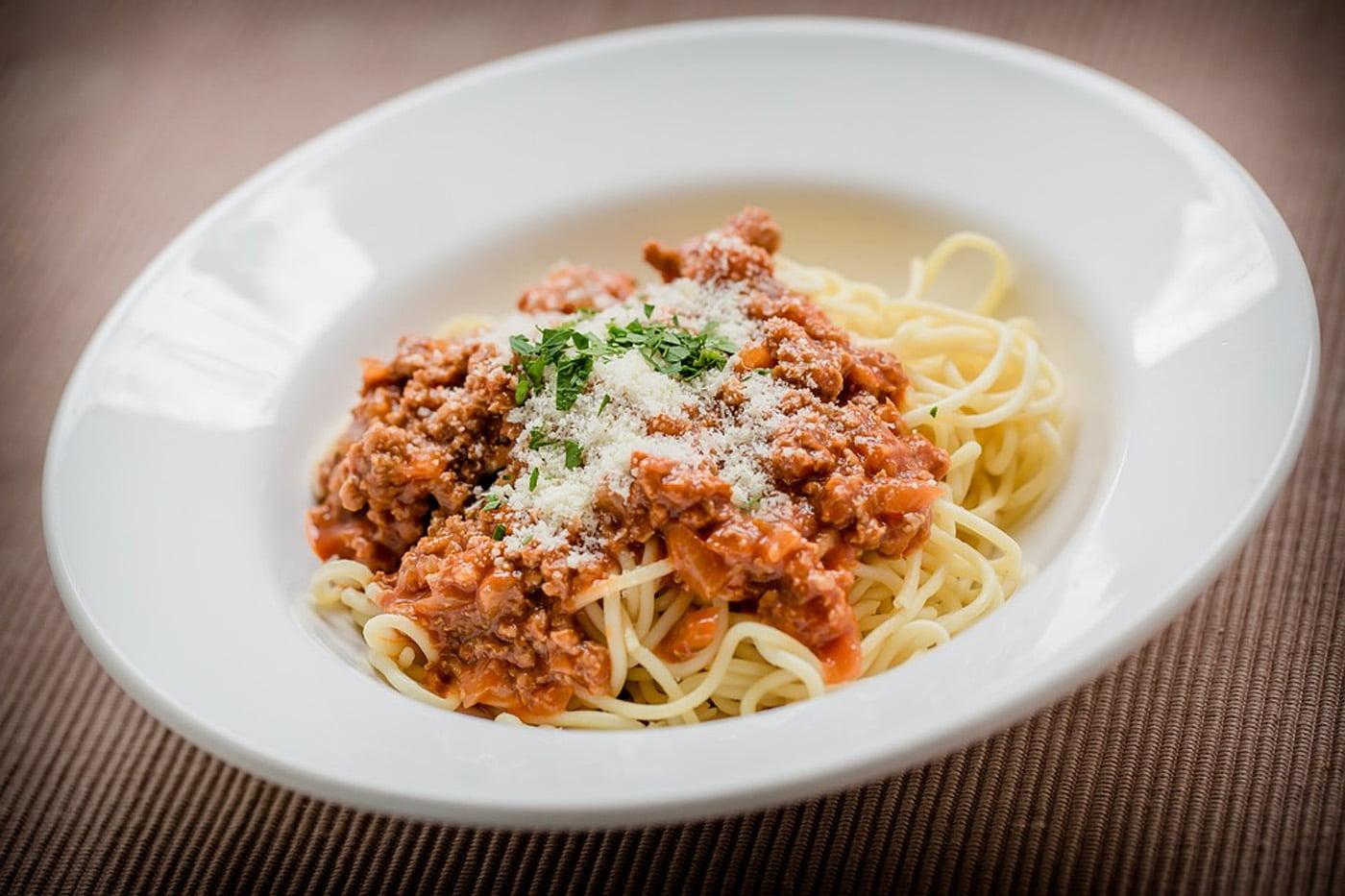 Freezer Friendly: Slow Cooker Spaghetti Bolognese