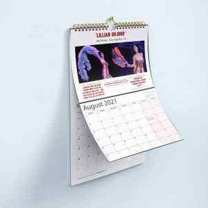 Vixens Unleashed calendar 2021 Lillian