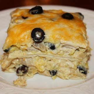 Green chicken enchilada recipe… that kids LOVE!