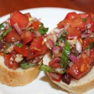 Simple and Delicious Bruschetta