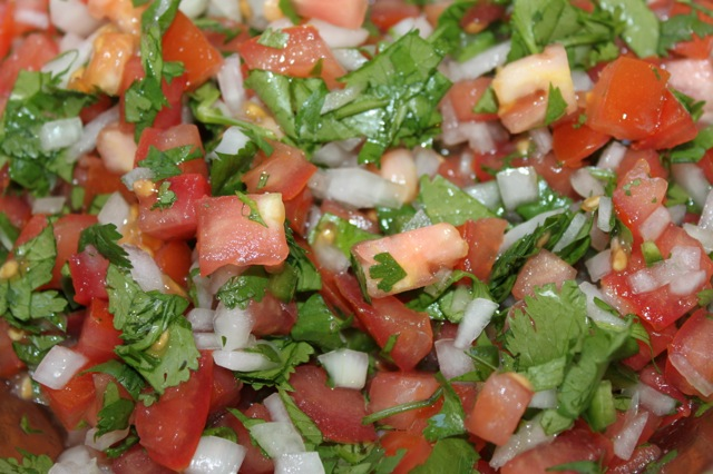 Pico de Gallo fresco