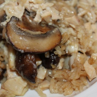 Marsala Chicken and Rice Casserole - www.vixenskitchen.com
