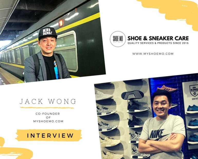 Jack Wong, Co-Founder of Shoe Mo