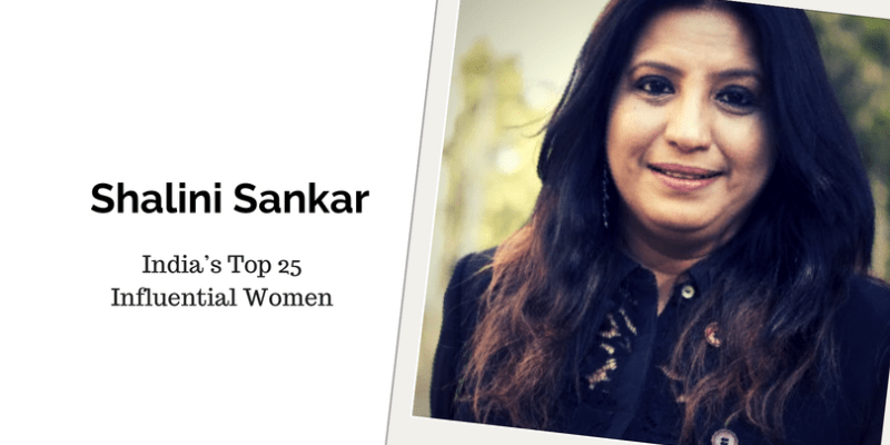 Shalini Sankar, India's Top 25 Influential women