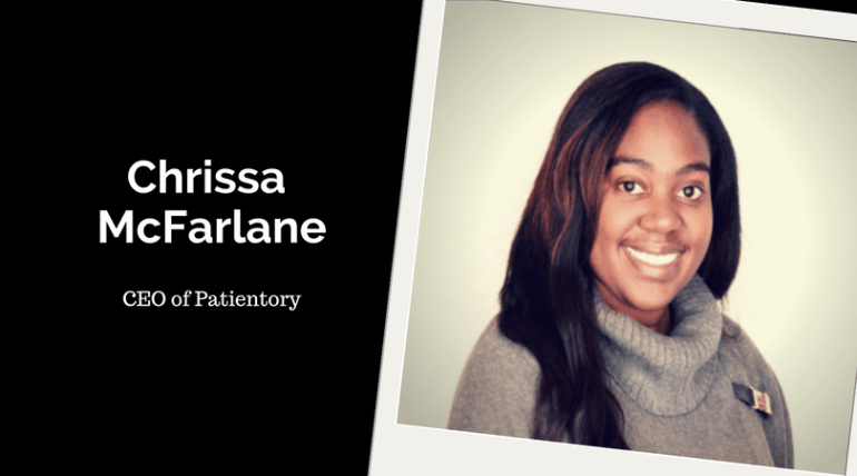 Chrissa McFarlane, CEO of Patientory