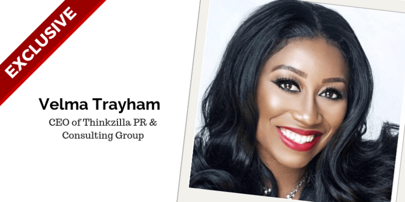 Meet Velma Trayham, A Successful Entrepreneur And Creative Strategist.