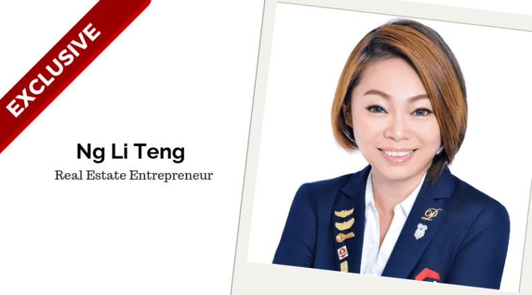 Ng Li Teng, Real Estate Entrepreneur