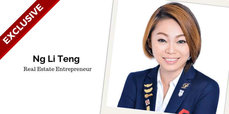 Ng Li Teng, Real Estate Entrepreneur