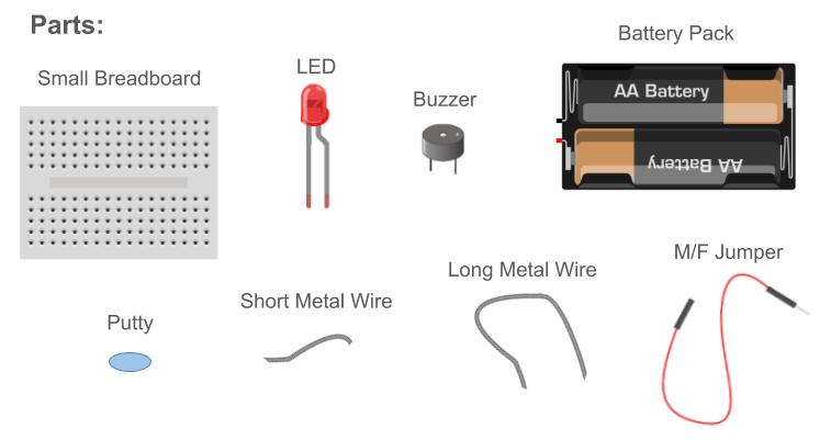 buzz wire parts