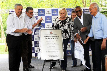 Governo do Estado inaugura núcleo de lazer, cultura e esporte do Jardim Itaim Biacica