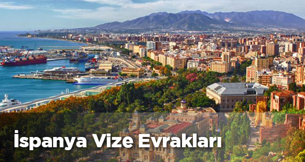 İspanya vizesi için gerekli evraklar