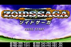 Zoids Saga Screenshot 1
