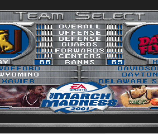 Ncaa March Madness 2001 Psx Rom