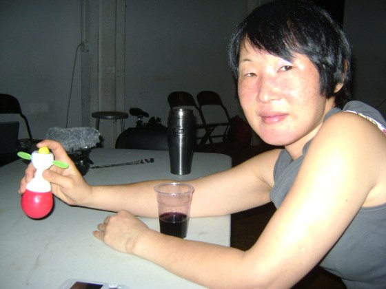o.blaat at Share NYC at the Issue Project Room, May 2011