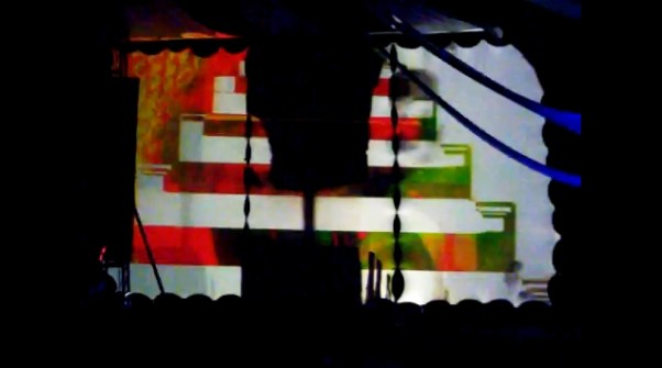 VJ Carrie Gates live at Motion Notion 2011