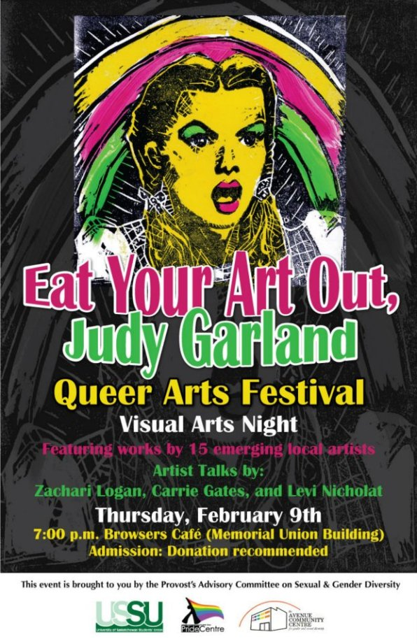 Eat Your Art Out Judy Garland Festival 2012