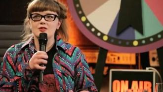 """Carrie Gates on Swiss TV Talk Show """"Meet The Artists"""" 2012"""