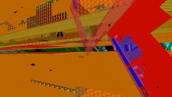 Super Mario 2 Glitch Video Still by VJ Carrie Gates