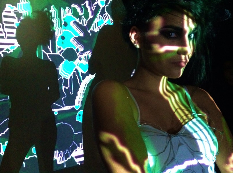 Behind the scenes at The Light Painting Project - Photo by Carrie Gates