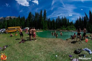 Motion Notion Festival in 2014 - Lakeside Site View