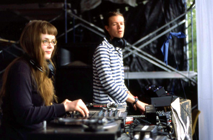 Carrie Gates and Jon Vaughn - Live at Connect Festival 2002