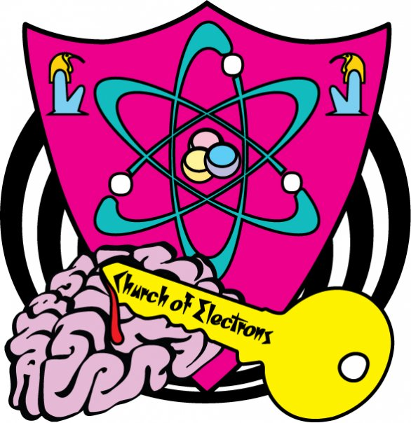 Church of Electrons Logo by Carrie Gates, 2009