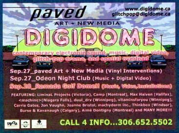 Digidome Festival, Paved Arts, 2002