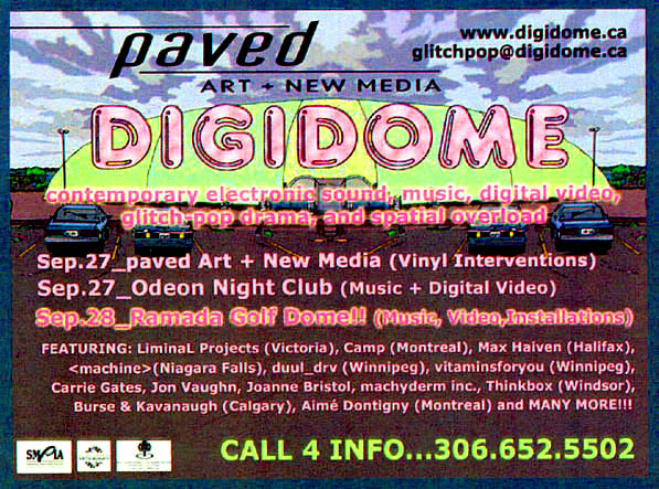 Digidome Festival, Paved Arts, 2002