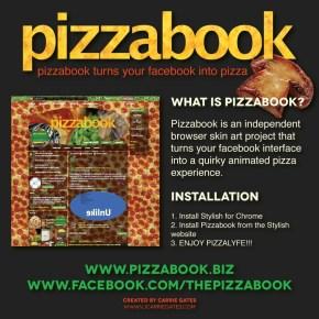 Pizzabook Promo Image - January 2016