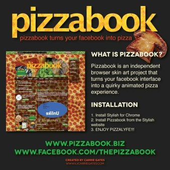 Pizzabook Promo Image - January 2016
