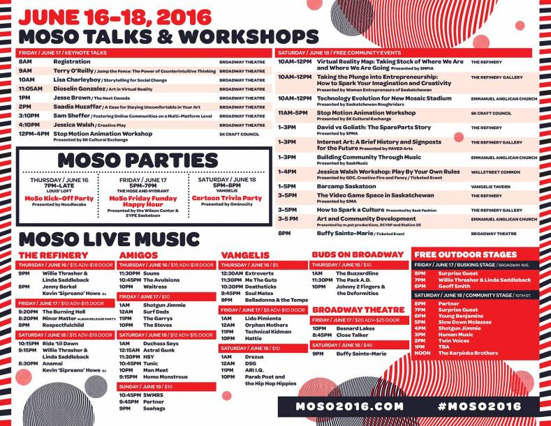 MoSo Conference 2016 - Schedule