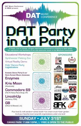 DAT Music Conference 2016 - Party In The Park