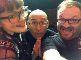 DAT Electronic Music Conference 2016 - Carrie Gates, Richard Devine, and Jerry Abstract - Photo by Jerry Abstract