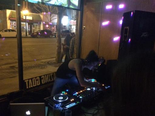 Deep Vibes and Dirty Breaks - Nov. 4 2016 - DJ Michelle C. - Pic by Marty Famine