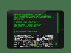 DU-VHS - Detroit Underground App