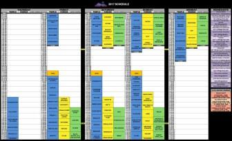 Motion Notion 2017 - Schedule