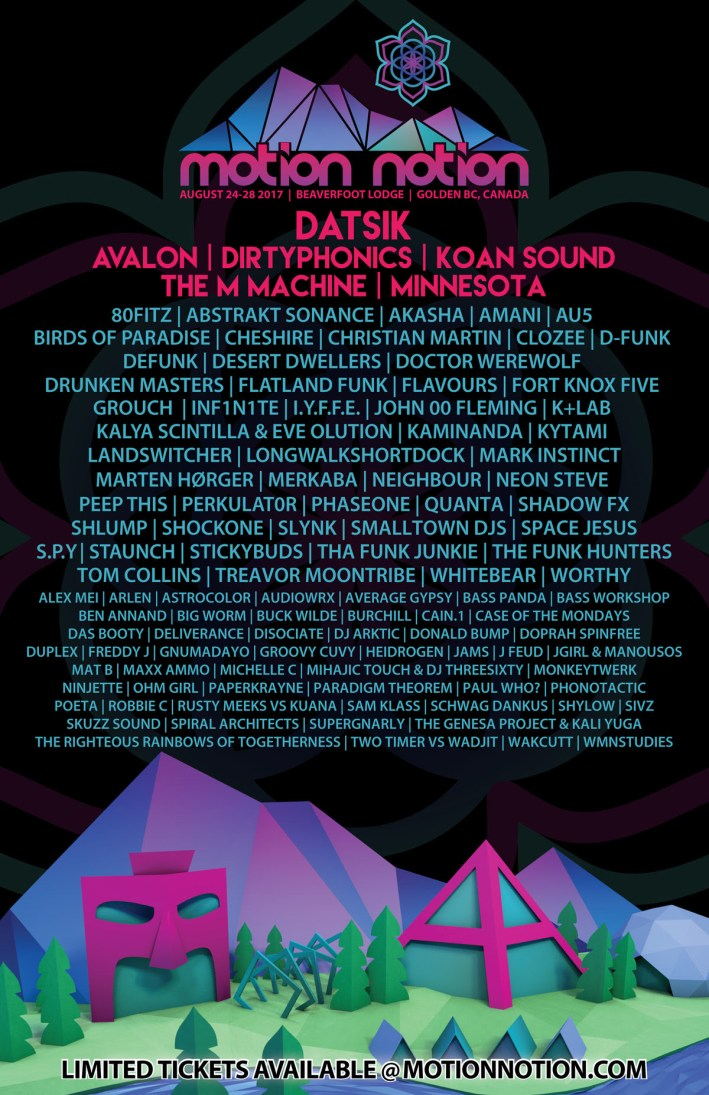 Motion Notion 2017 - Poster
