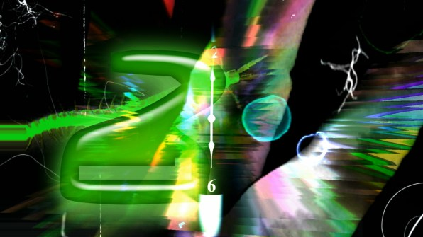 """""""Timeworms in Space"""" Video Still by Carrie Gates"""
