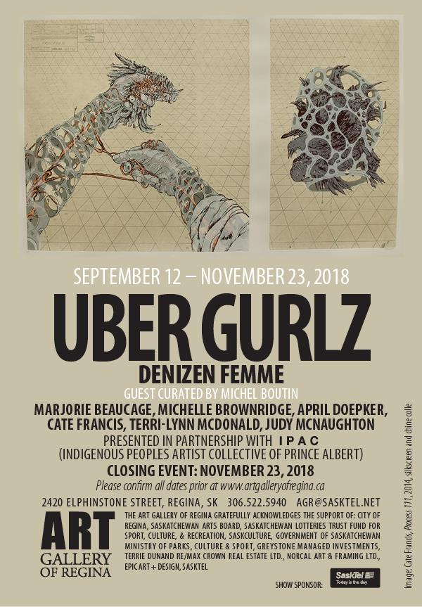 UBER GURLZ: Denizen Femme at the Art Gallery of Regina