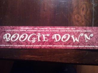 Boogie Down - NYE Rave 1998