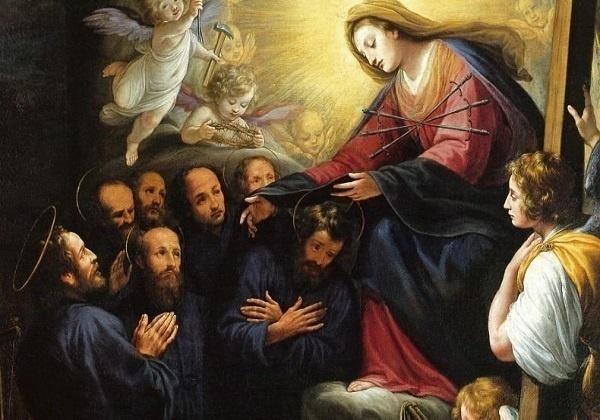 Slikovni rezultat za Sedam utemeljitelja Reda slugu Marijinih