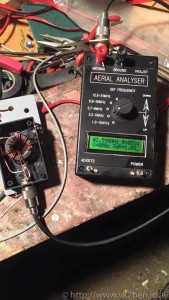 Testing the Balun with 200 Ohms and an Analyser. Looks good to me!