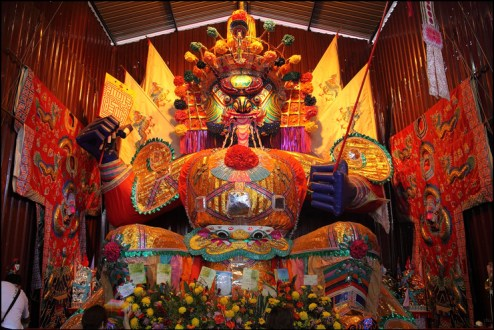 Image result for Malaysian celebration during a Hungry Ghost Festival.