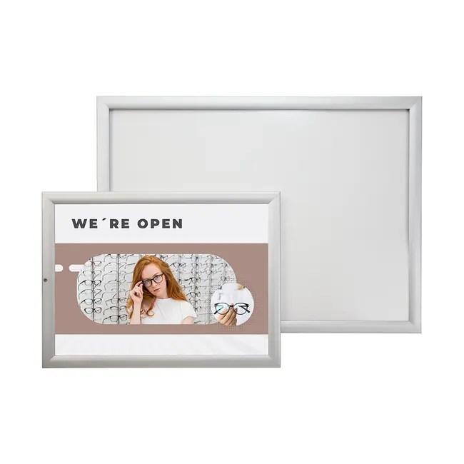 waterproof silver snap frame tamperproof eco 35
