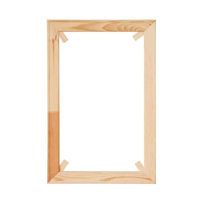 wooden wedge poster frame standard