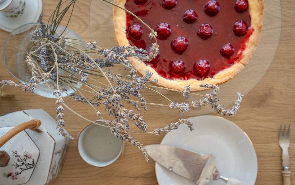 Торта с вишни по стара рецепта