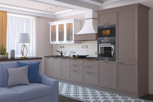Кухня Портофино с фасадами МДФ - цена, фото и описание